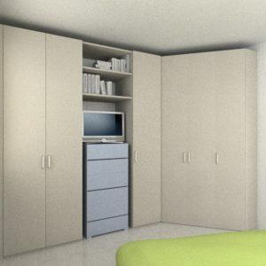 Armadio personalizzato per camera da letto